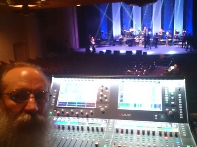 FOH Engineer Concert at Alex Theatre