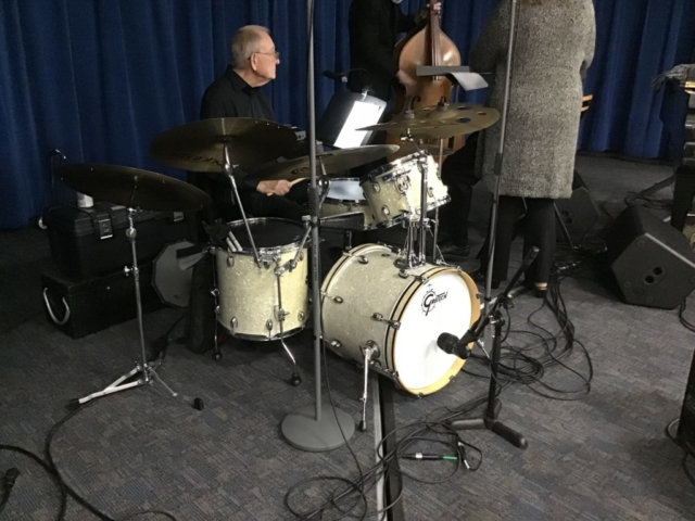 Multi-Track recording using the Lewitt DTP640REX with drummer John Whited in the Hank Barto Band