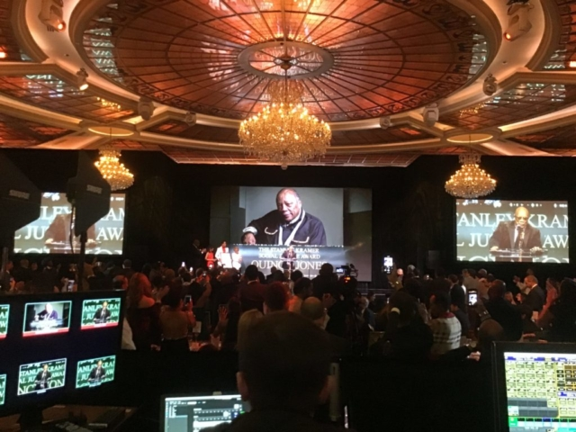 Production Audio for Live Events - Quincy Jones - AAFCA