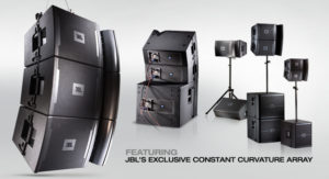 JBL VRX Line Array System